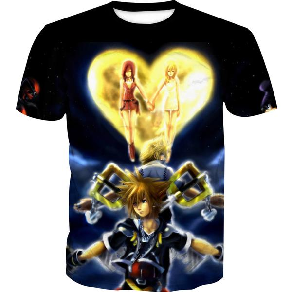 Kingdom Hearts T-Shirt - Kingdom Hearts Clothing - Hoodie Now