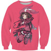 Kohiruimaki Karen Sweatshirt - Sword Art Online Sweaters - Anime Clothes