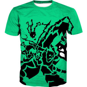 League of Legends T-Shirt - Green Thresh Shirts