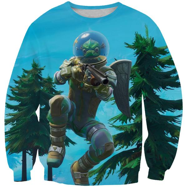 Leviathan Fortnite Skin Sweatshirt - Fortnite Clothing