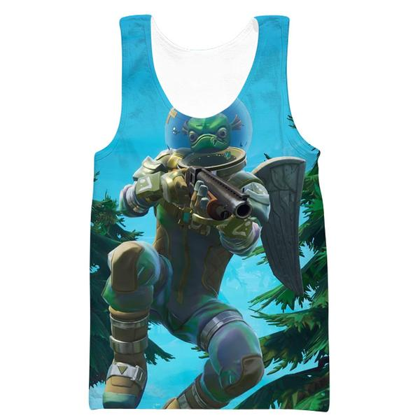 Leviathan Fortnite Skin Tank Top - Fortnite Clothing
