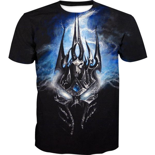 Lich King Arthas Clothes - World of Warcraft T-Shirt - Hoodie Now