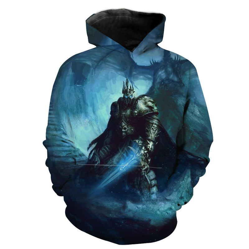 World of Warcraft Lich King Hoodie - Epic Arthas Clothes - Hoodie Now