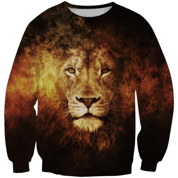 Lion Sweatshirt - Epic Lion Clothes