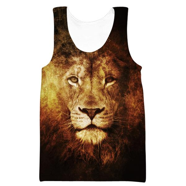 Lion Tank Top - Epic Lion Clothes