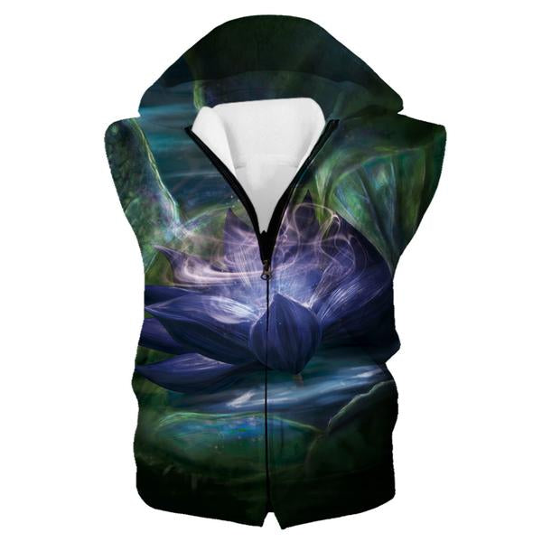 Magic The Gathering Hooded Tank - Black Lotus Clothes