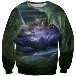 Magic The Gathering Sweatshirt - Black Lotus Clothes