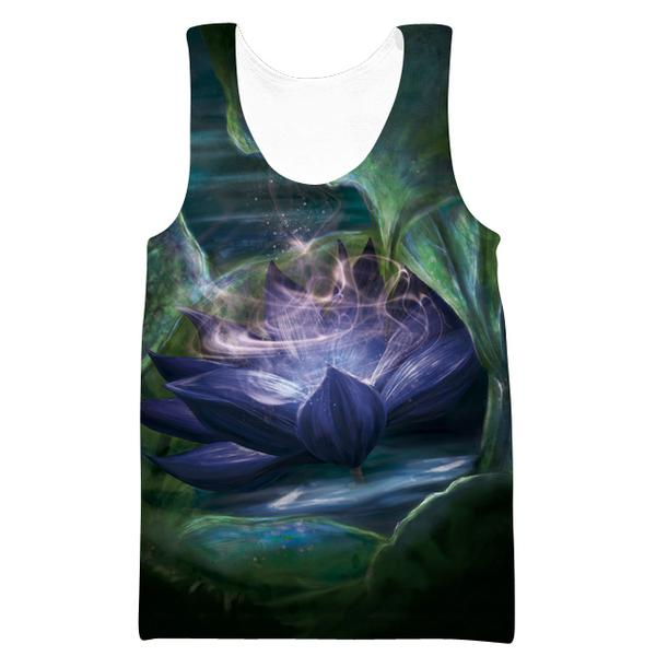 Magic The Gathering Tank Top - Black Lotus Clothes