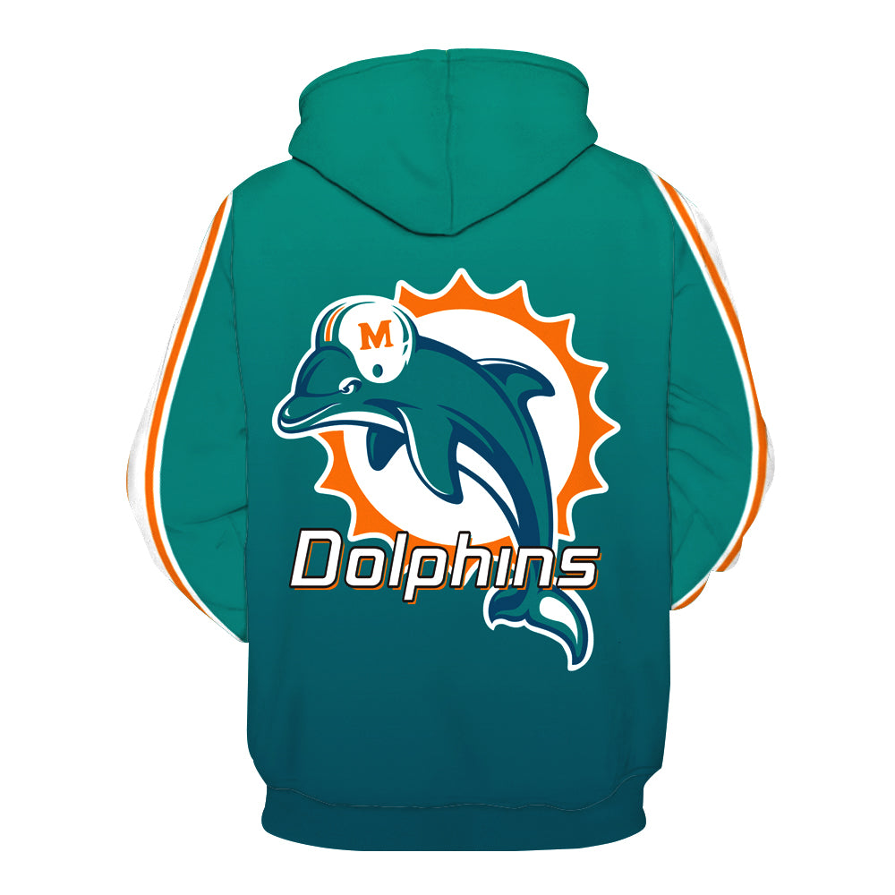 Miami Dolphins Hoodie - Full Printed