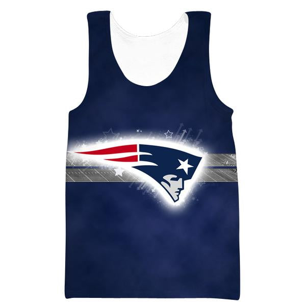 New England Patriots Tank Top - Football Patriots Clothes