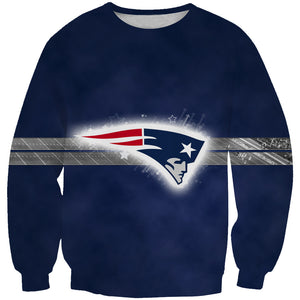 New England Patriots Sweatshirt - Football Patriots Clothes - Hoodie Now