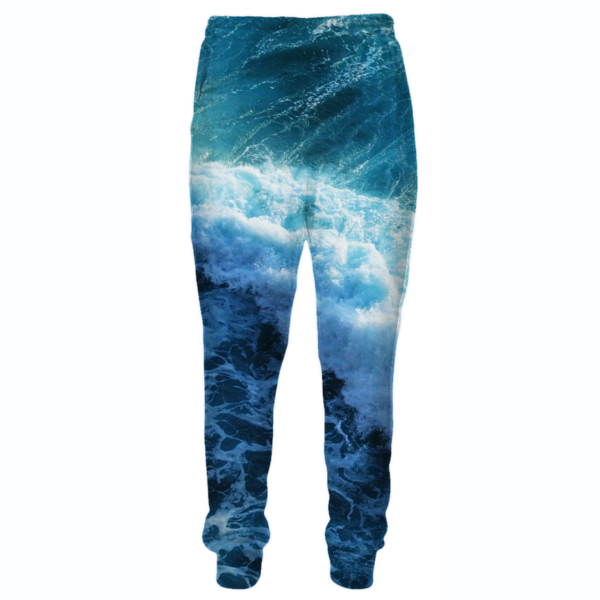 Ocean Storm Sweatpants - Epic Printed Clothes