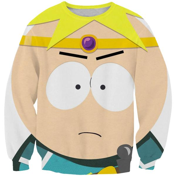 Paladin Butters Sweatshirt - South Park Style Hoodie and Clothes - Hoodie Now