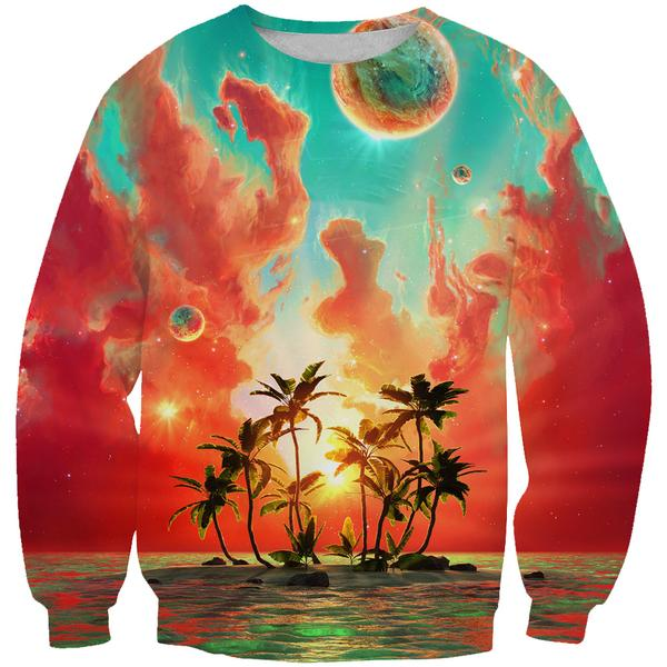 Paradise Island Sweatshirt - Utopia Epic Clothes