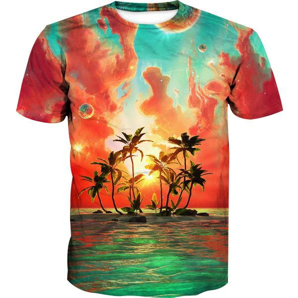 Paradise Island T-Shirt - Utopia Epic Clothes