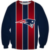 Red and Blue New England Patriots Tank Top - Football Patriots Clothes