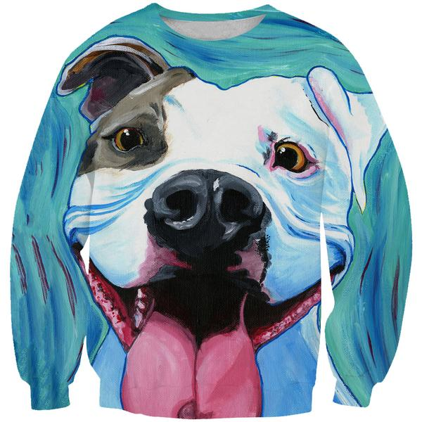 Pit Bull Sweatshirt - Dog Printed Clothing - Hoodie Now
