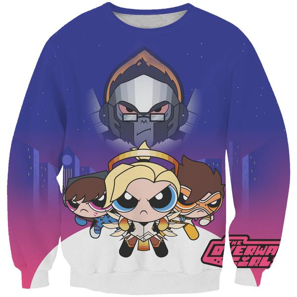 Powerpuff Girls Sweatshirt - MoJo And More Character Clothes