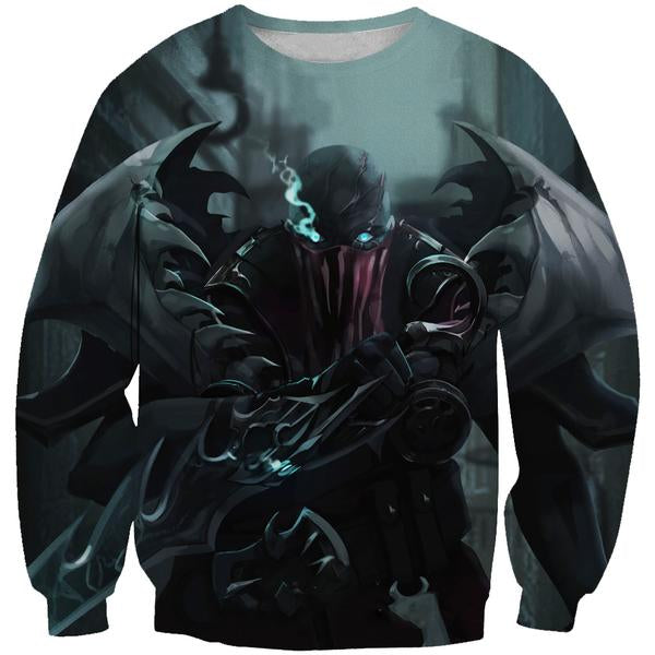 Pyke Sweatshirt - League of Legends Pyke Clothing - Hoodie Now