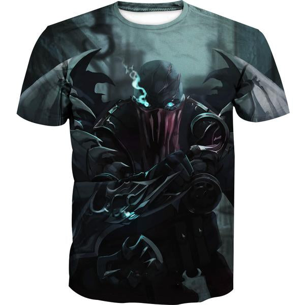 Pyke T-Shirt - League of Legends Pyke Clothing