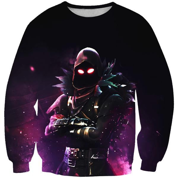 Raven Sweatshirt - Fortnite Clothing and Sweaters