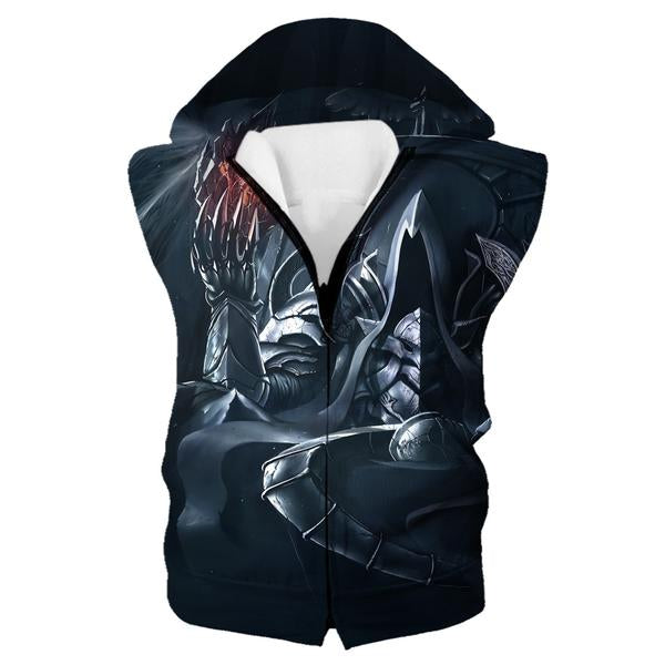 Reaper of Souls Hooded Tank - Diablo Clothes and Hoodies - Hoodie Now