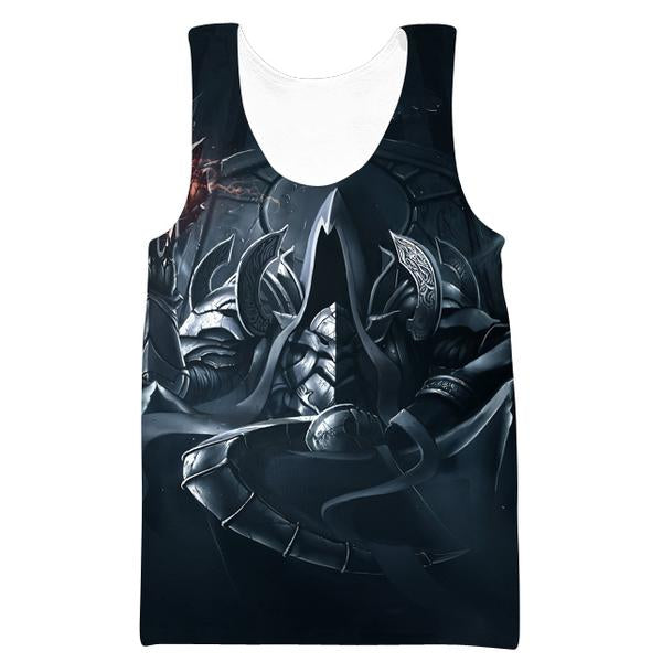 Reaper of Souls Tank Top - Diablo Clothes and Gym Shirts - Hoodie Now
