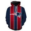 Patriots Red and Blue Hoodie