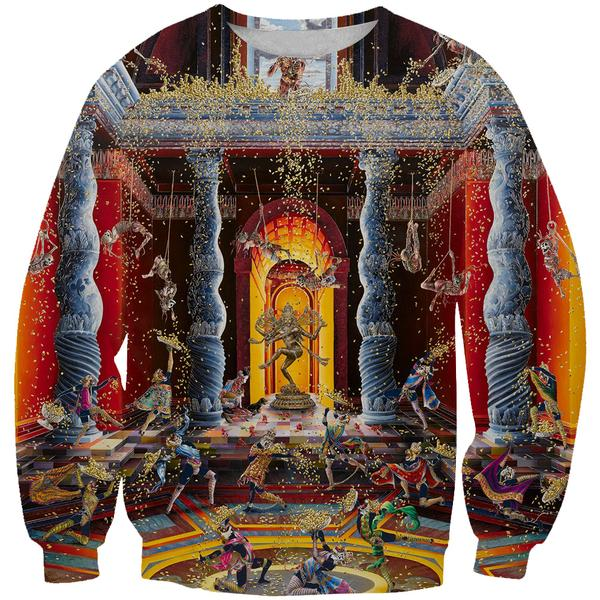 Renaissance Art Sweatshirt - 3D Hoodies and Clothing