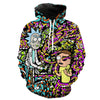 Rick and Morty Acid Hoodie
