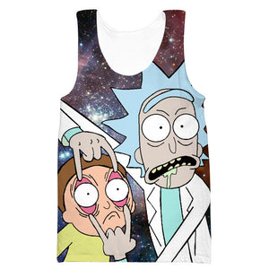 Rick and Morty Hoodie - Rick and Morty Eyes Clothes