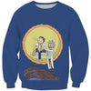 Rick and Morty Lion King Sweatshirt - Funny Screaming Sun - Hoodie Now