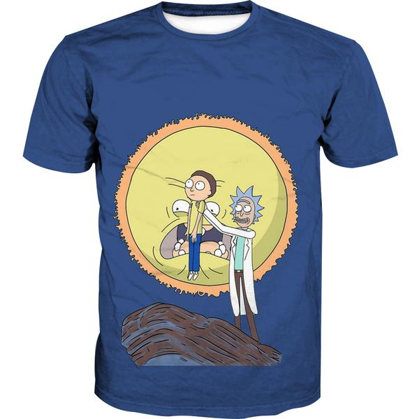 Rick and Morty Lion King T-Shirt - Funny Screaming Sun - Hoodie Now