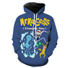 Rick and Morty Pokemon Meeseeks hoodie