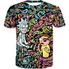Rick and Morty Trippy Acid T-Shirt - Trip Cartoon Clothing