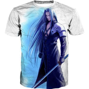 Sephiroth T-Shirt - Final Fantasy Clothes - Gaming Clothing