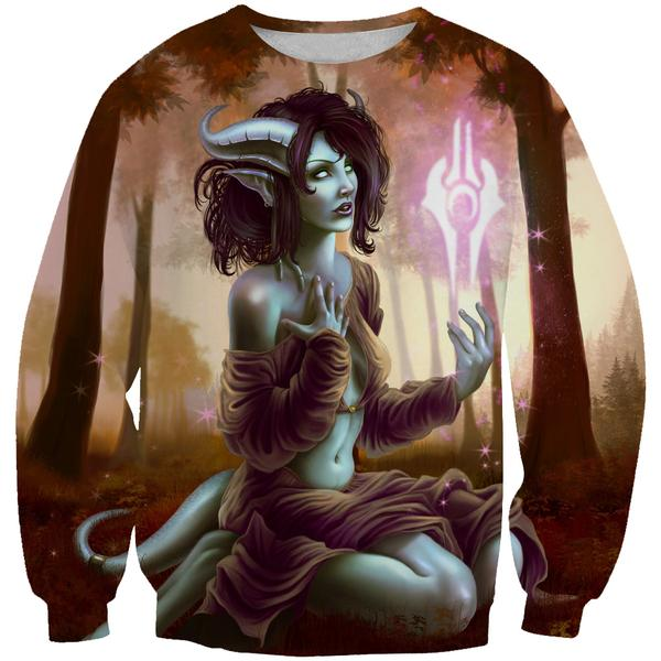Sexy Draenei Sweatshirt - World of Warcraft Apparel - Hoodie Now