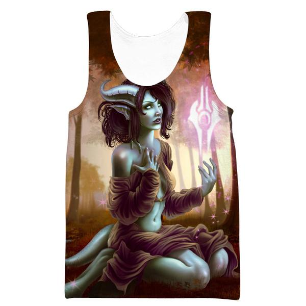 Sexy Draenei Tank Top - World of Warcraft Apparel - Hoodie Now