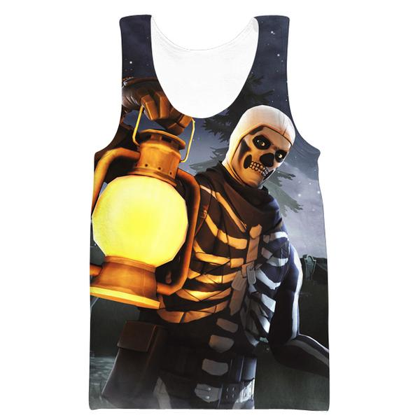 Skull Trooper Tank Top - Fortnite Clothes