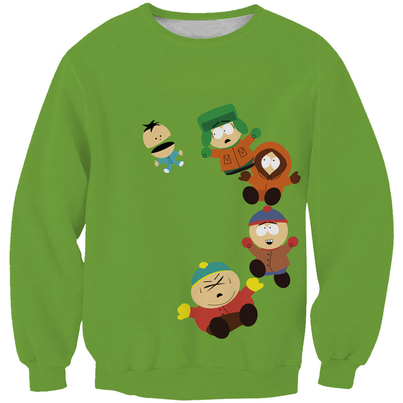 Funny South Park Sweaters - Cartman, Stan and Kyle Sweatshirt