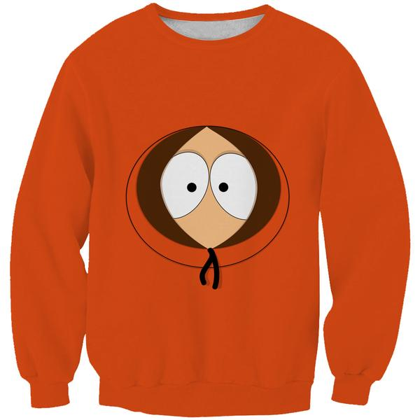 South Park Sweatshirt - Kenny Face Clothes - Hoodie Now