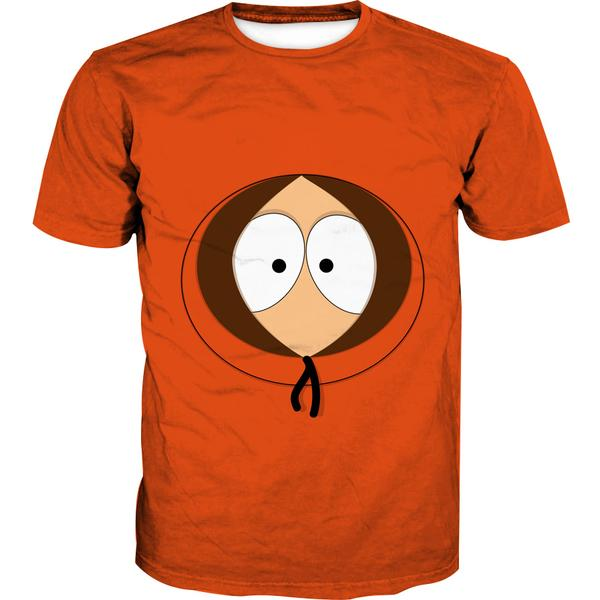 South Park T-Shirt - Kenny Face Clothes - Hoodie Now