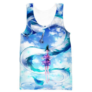 Spirited Away Tank Top - Spirited Away Dragon Anime Clothing - Hoodie Now