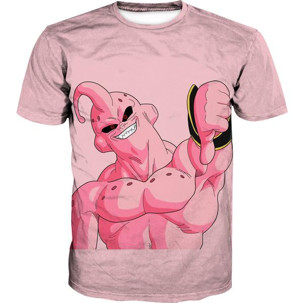 Super Buu Clothing - Dragon Ball Z Super Boo Thumbs Down T-Shirt - Hoodie Now