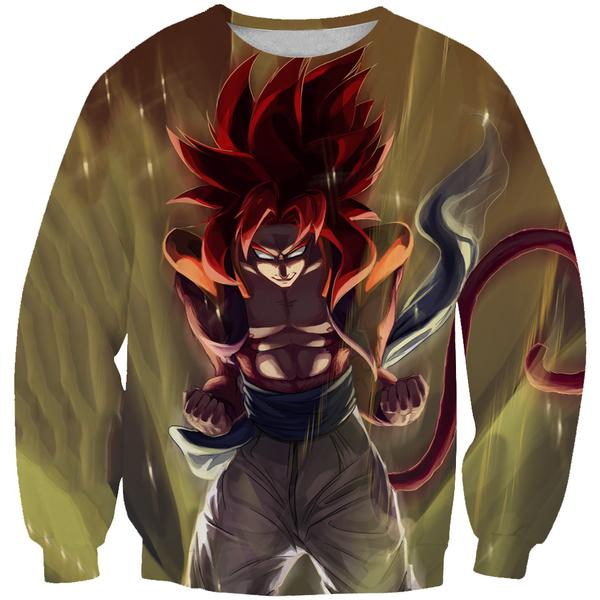 Super Saiayn 4 Gogeta Sweatshirt - Dragon Ball GT Clothes