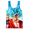 Super Saiyan Blue Goku Hoodie - Dragon Ball Super Clothing