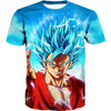 Super Saiyan Blue Goku Hooded Tank - Dragon Ball Super Clothing - Hoodie Now
