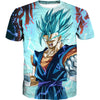 Super Saiyan Blue Vegito Shirt