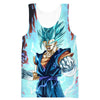 Super Saiyan Blue Vegito Tank Top - Dragon Ball Super Clothes - Hoodie Now