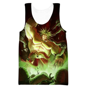 Super Saiyan Broly Tank Top - Dragon Ball Movie Clothes
